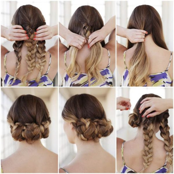 Easy Braided Hairstyles To Do Yourself  Lovely Braided Hairstyle Tutorials That You Can Make
