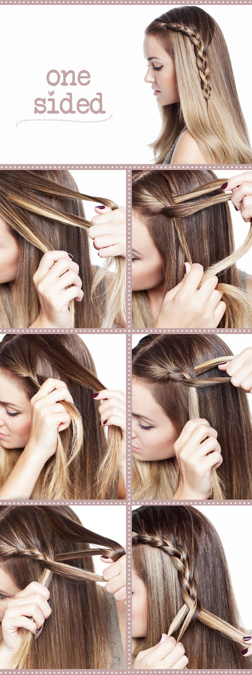 Easy Braided Hairstyles To Do Yourself  11 Interesting And Useful Hair Tutorials For Every Day