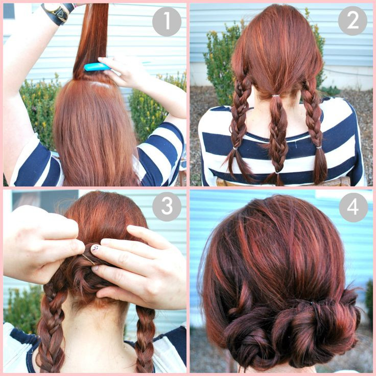 Easy Braided Hairstyles To Do Yourself  Easy Wedding Hairstyles You can do Yourself Hair World