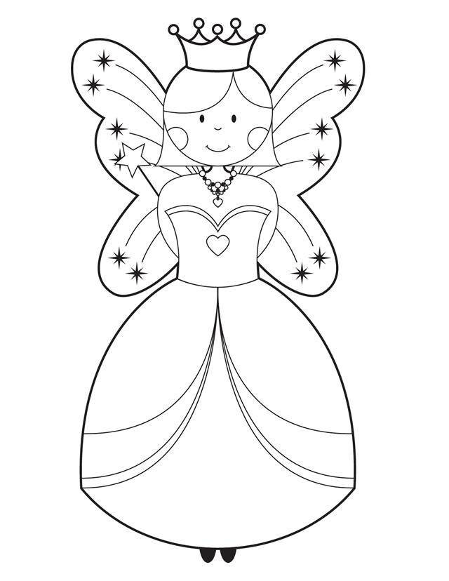 Best ideas about Easy Coloring Pages For Girls . Save or Pin Coloring Pages For Girls Easy Coloring Home Now.