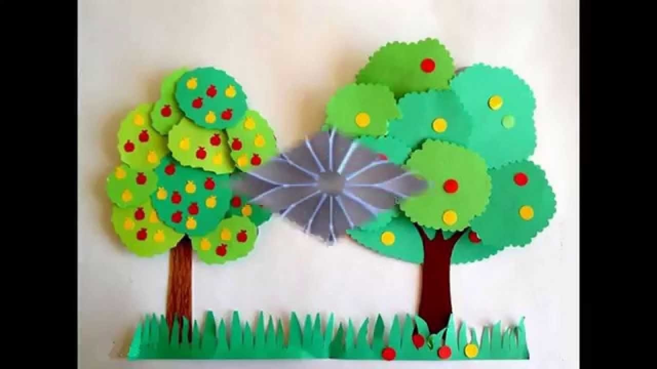 Easy Crafts For Toddlers  Easy Crafts For Kids With Construction Paper