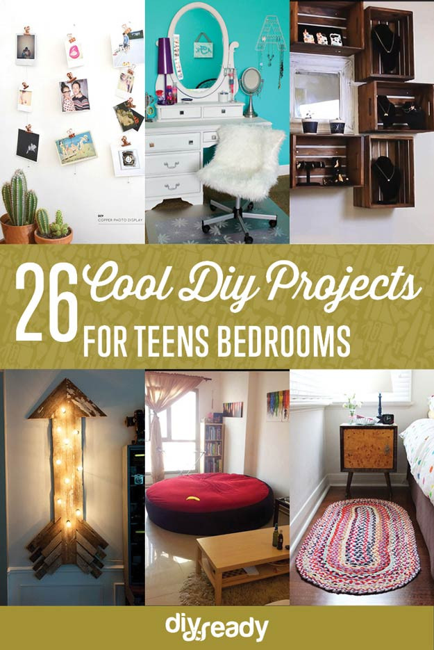 Best ideas about Easy DIY Projects For Bedroom . Save or Pin 26 Cool DIY Projects For Teens Bedroom Now.