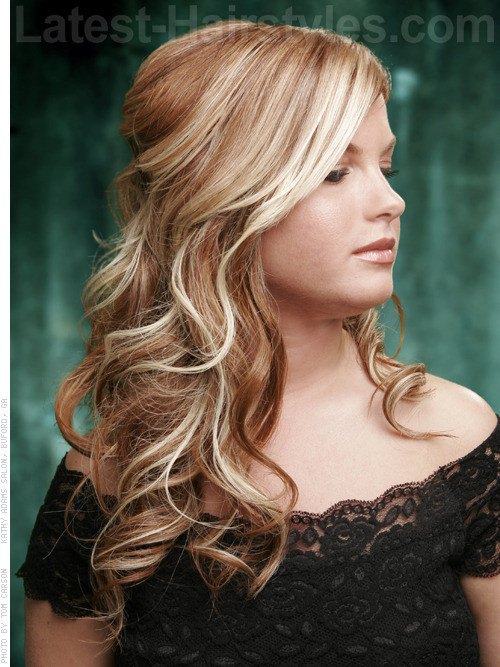 Easy Formal Hairstyles  20 Gorgeous Formal Half Updos You ll Fall In Love With