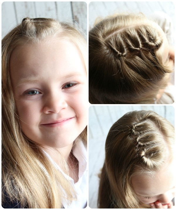 Easy Girls Hairstyles  Easy Hairstyles For Little Girls 10 ideas in 5 Minutes