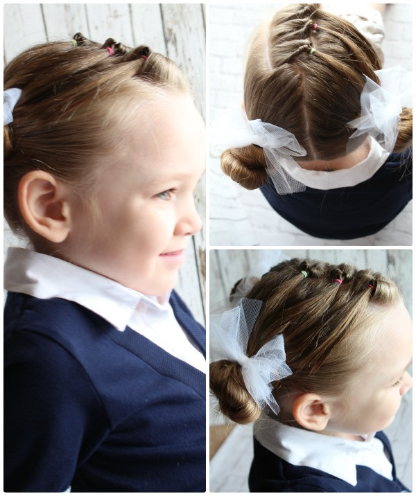 Easy Girls Hairstyles  Easy Little Girls Hairstyles 10 Cutest Ideas in 5