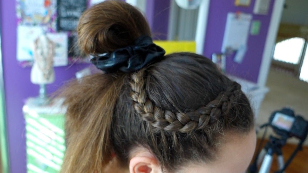 Easy Gymnastics Hairstyles  4 Hairstyle Ideas for Gymnastics Everyday Gymnastics