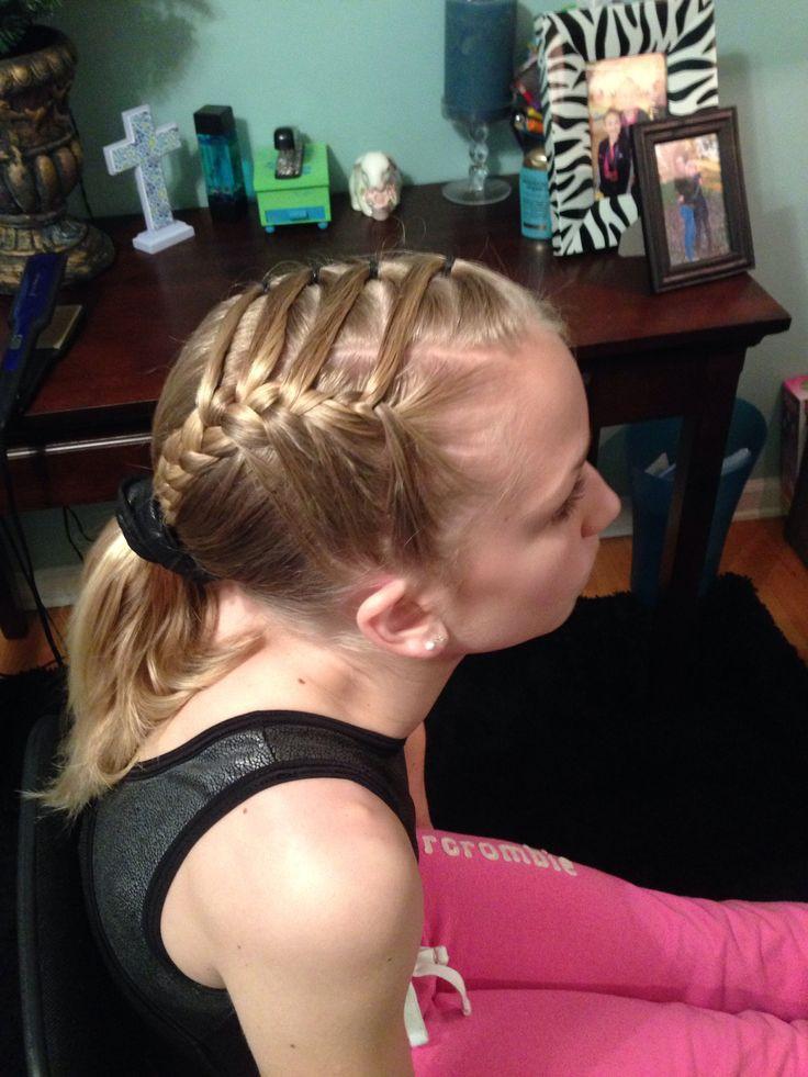 Easy Gymnastics Hairstyles  Easy Gymnastics petition Hair