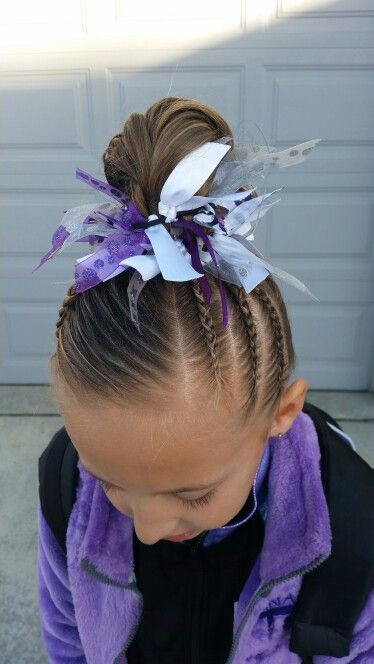 Easy Gymnastics Hairstyles  25 best ideas about Gymnastics hair on Pinterest
