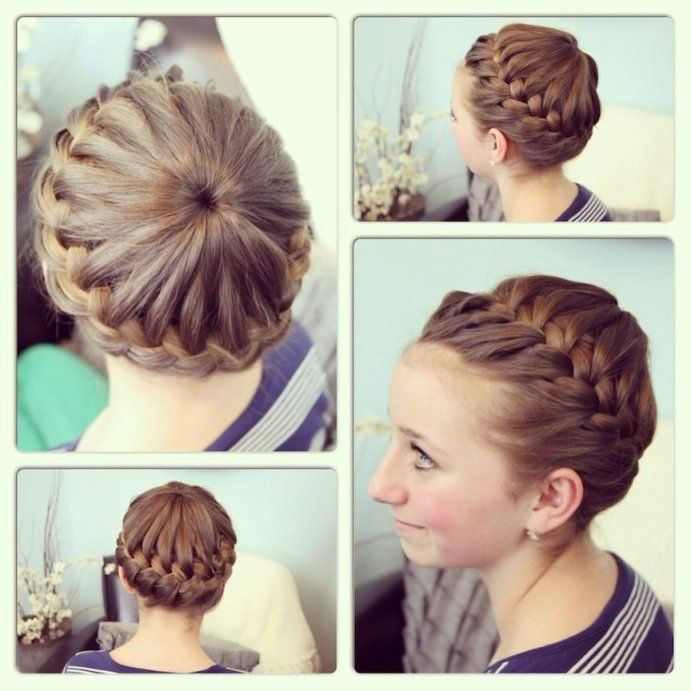 Easy Gymnastics Hairstyles  Gymnastics hairstyles for long hair