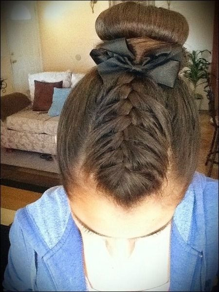 Easy Gymnastics Hairstyles  Gymnastics hair and makeup 💕💖