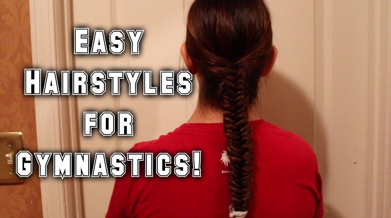 Easy Gymnastics Hairstyles  Easy Hairstyles for Gymnastics