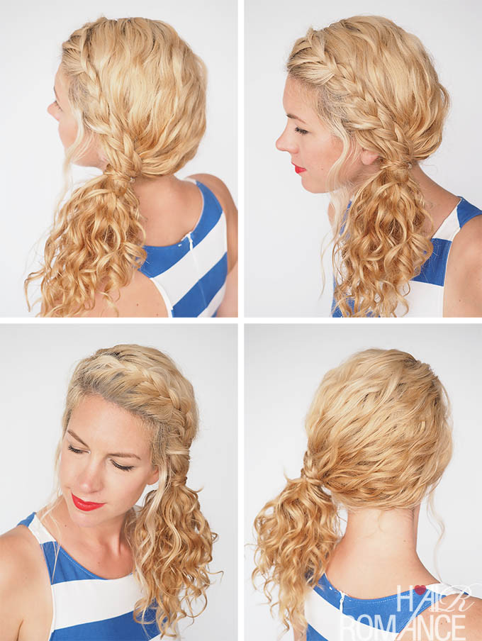 Easy Hairstyles For Picture Day  Hairstyles to do for Hairstyles For Picture Day Curly