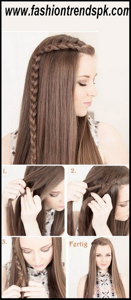 Easy Hairstyles For Picture Day  Hairstyles 2016 for school