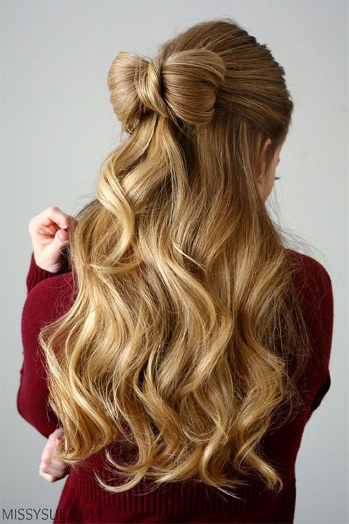 Easy Hairstyles For Picture Day  20 Inspiring Valentine s Day Hairstyles Ideas & Looks