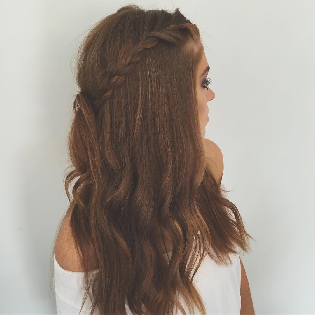 Easy Hairstyles For Picture Day  20 Charming and y Valentine's Day Hairstyles