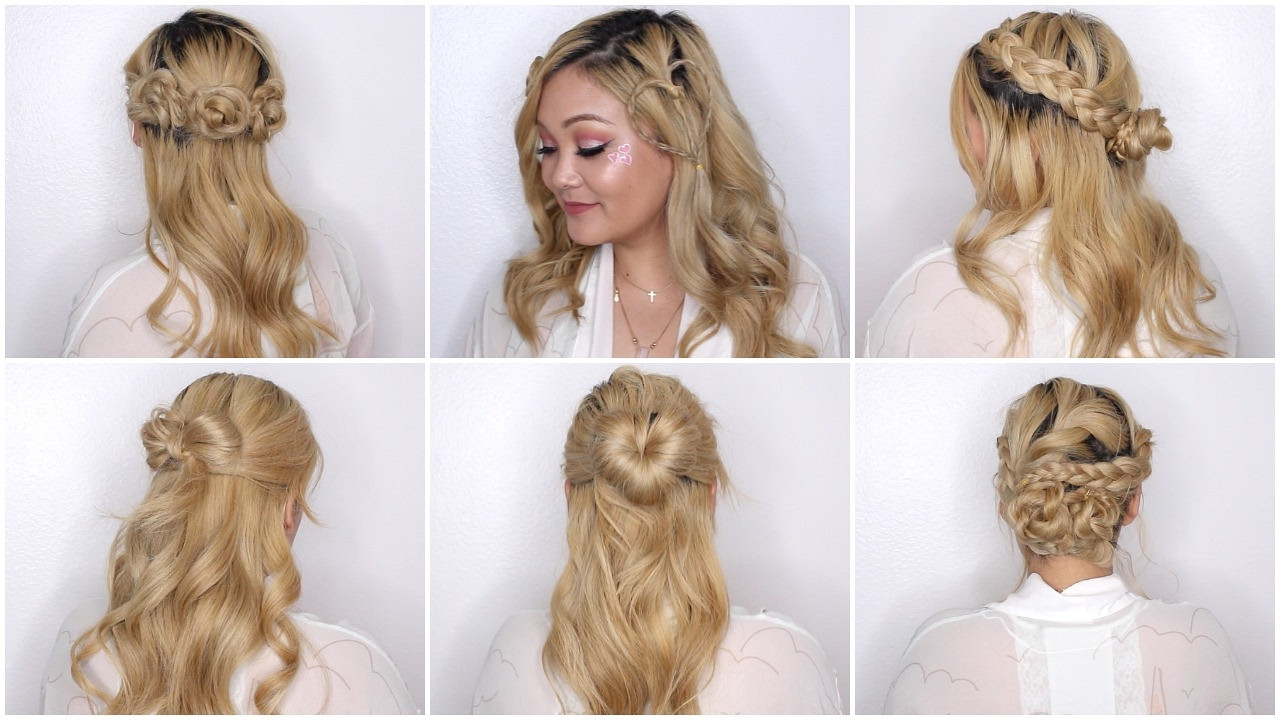 Easy Hairstyles For Picture Day  Easy Valentine's Day Hairstyles