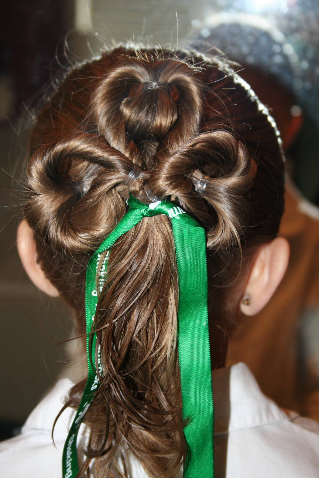 Easy Hairstyles For Picture Day  St Patrick s Day Hairstyles