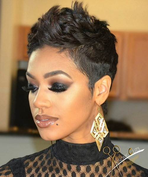 Easy Hairstyles For Short Black Hair  Simple hairstyle for Short Hairstyles For Blacks Great