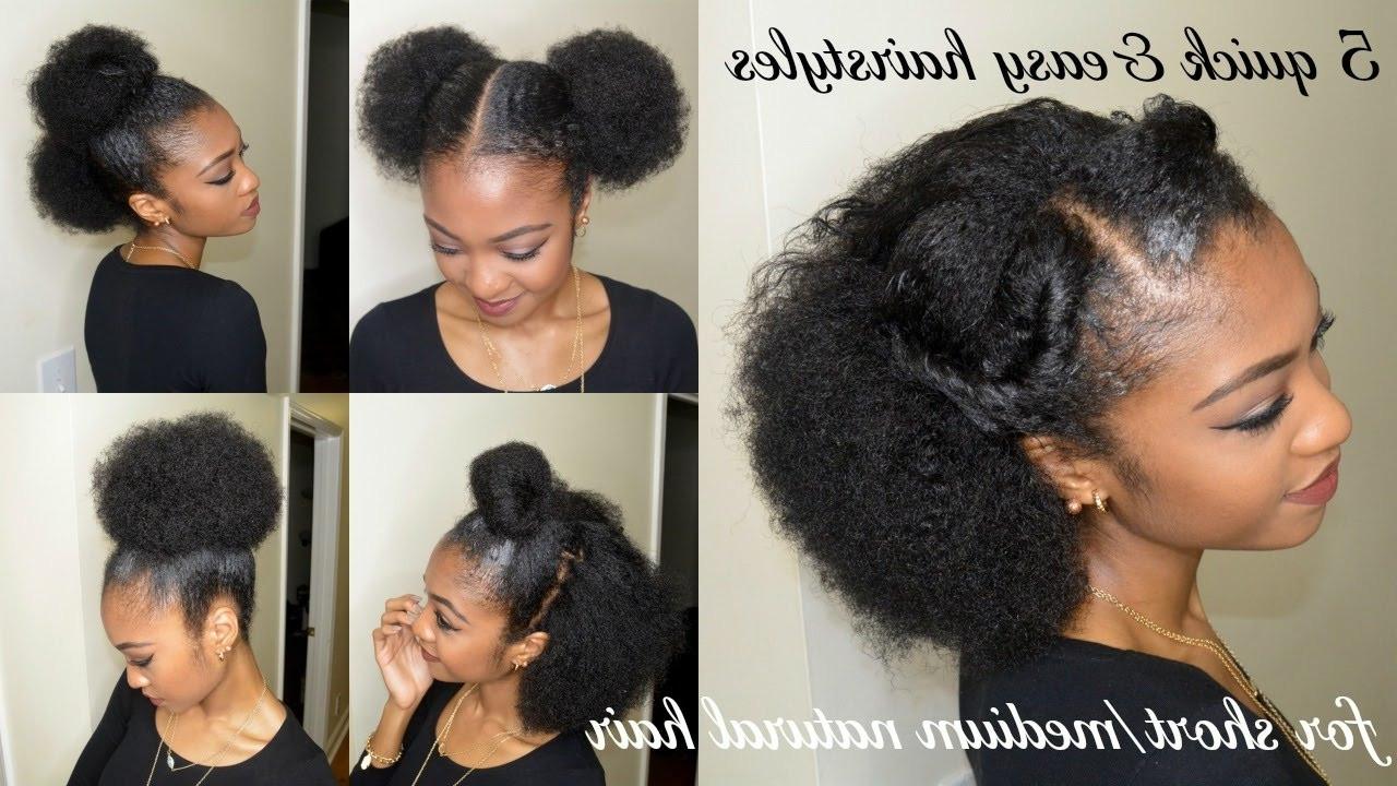 Easy Hairstyles For Short Black Hair  Easy Hairstyles Black Hair
