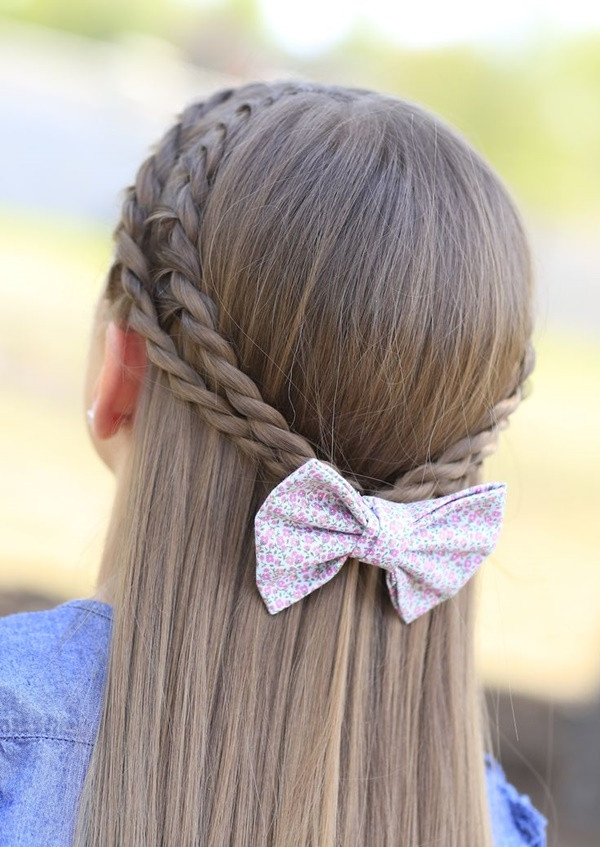 Easy Hairstyles For Teens  40 Simple & Easy Hairstyles for School girls