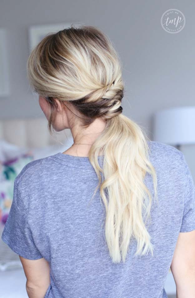 Easy Hairstyles For Teens  41 DIY Cool Easy Hairstyles That Real People Can Actually