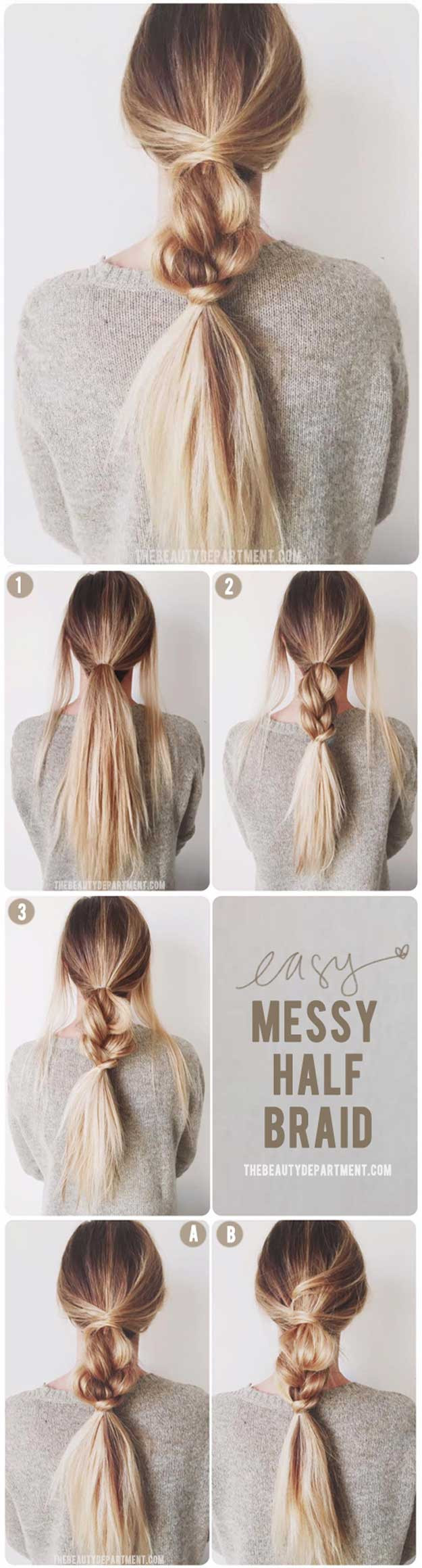 Easy Hairstyles For Teens  33 Best Hairstyles for Teens The Goddess