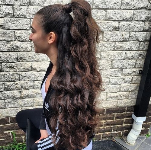 Best ideas about Easy Hairstyles For Thick Curly Hair . Save or Pin Easy Hairstyles for Long Thick Hair Hairstyle For Women Now.