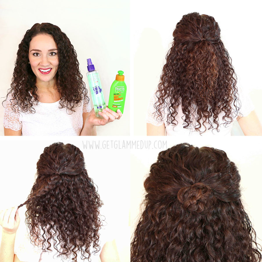 Best ideas about Easy Hairstyles For Thick Curly Hair . Save or Pin Quick Easy Hairstyles For Thick Curly Hair HairStyles Now.