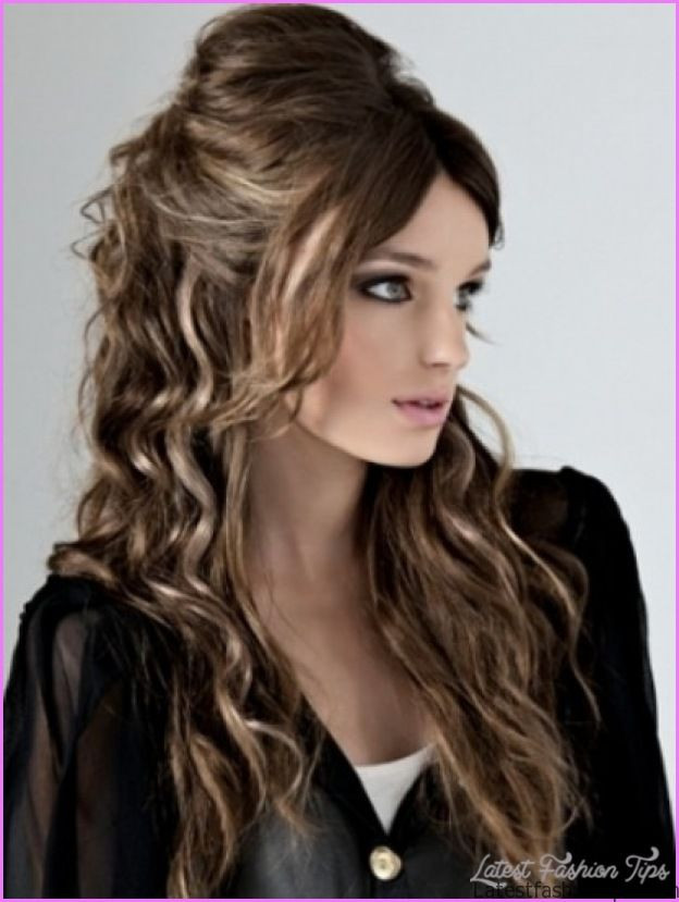 Easy Hairstyles For Thick Hair  Quick easy hairstyles for thick hair LatestFashionTips