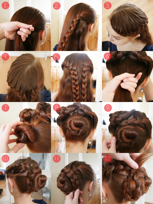 Easy Hairstyles For Thick Hair  Easy updos for long thick hair Hairstyle for women & man