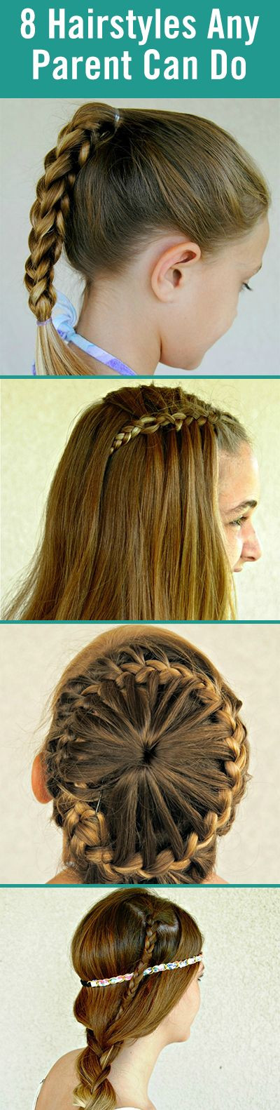 Easy Hairstyles That Kids Can Do  1000 images about Hair Tutorials on Pinterest