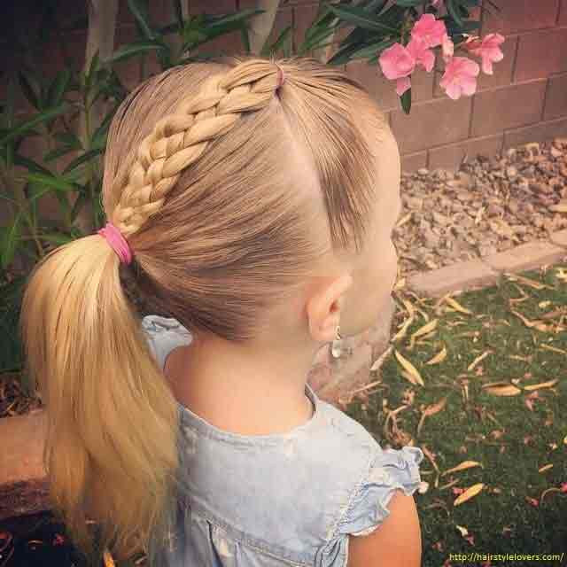 Easy Hairstyles That Kids Can Do  Little Girls Hairstyles For Eid 2019 In Pakistan – FashionEven