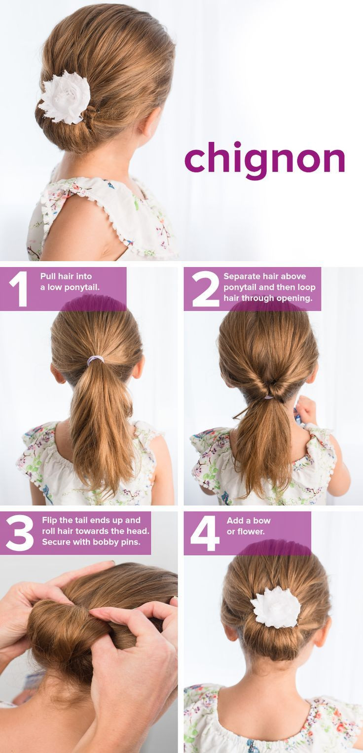 Easy Hairstyles That Kids Can Do  5 fast easy cute hairstyles for girls
