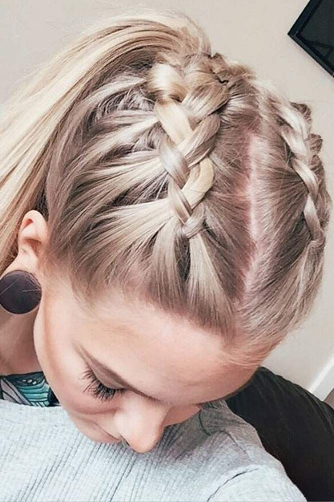 Easy Hairstyles To Do For School  14 easy braided hairstyles and step by step tutorials