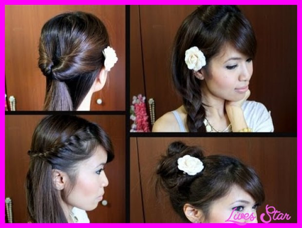 Easy Hairstyles To Do For School  Cute easy hairstyles for long hair school step by