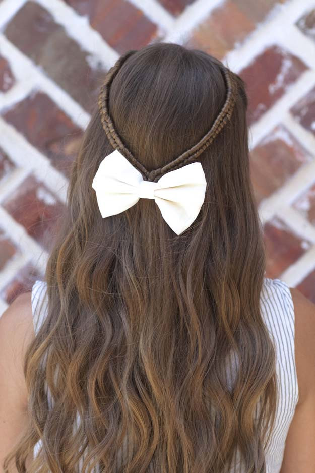 Easy Hairstyles To Do For School  41 DIY Cool Easy Hairstyles That Real People Can Actually