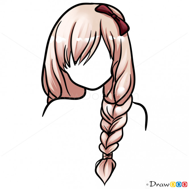 Easy Hairstyles To Draw  Drawing Hairstyles Easy Lesson Step by Step Drawing