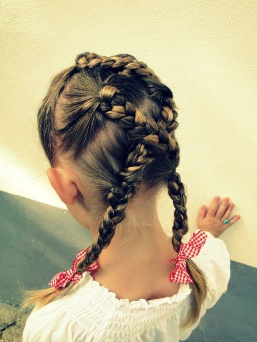 Easy Kid Hairstyles  15 Easy Halloween Hairstyles For Kids