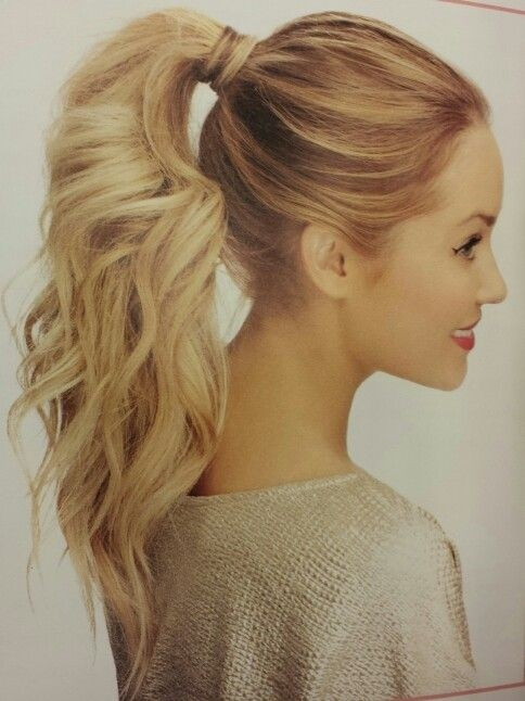 Easy Ponytail Hairstyle  10 Cute Ponytail Ideas Summer and Fall Hairstyles for