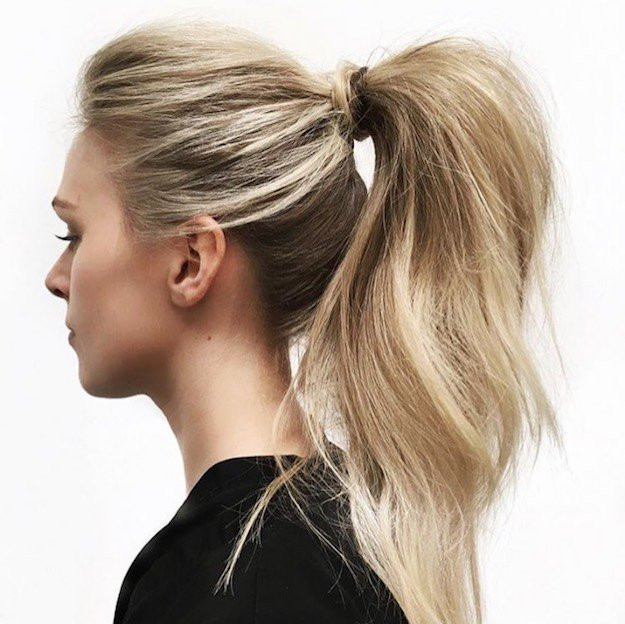 Easy Ponytail Hairstyle  Check Out These Easy Before School Hairstyles For Chic