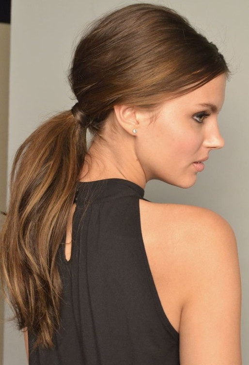 Easy Ponytail Hairstyle  2014 Cute Hairstyles for Girls Beautiful and Easy Hair