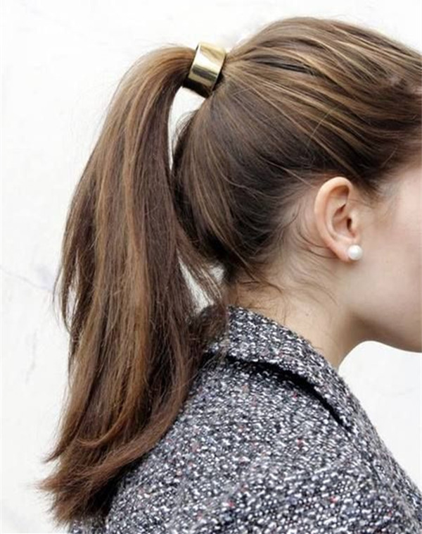 Easy Ponytail Hairstyle  10 Lovely Ponytail Hair Ideas for Long Hair Easy Doing