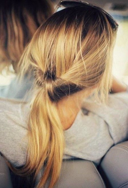Easy Ponytail Hairstyle  10 Cute Ponytail Hairstyles for 2018 New Ponytails to Try