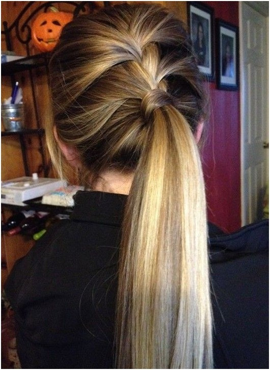 Easy Ponytail Hairstyle  14 Braided Ponytail Hairstyles New Ways to Style a Braid