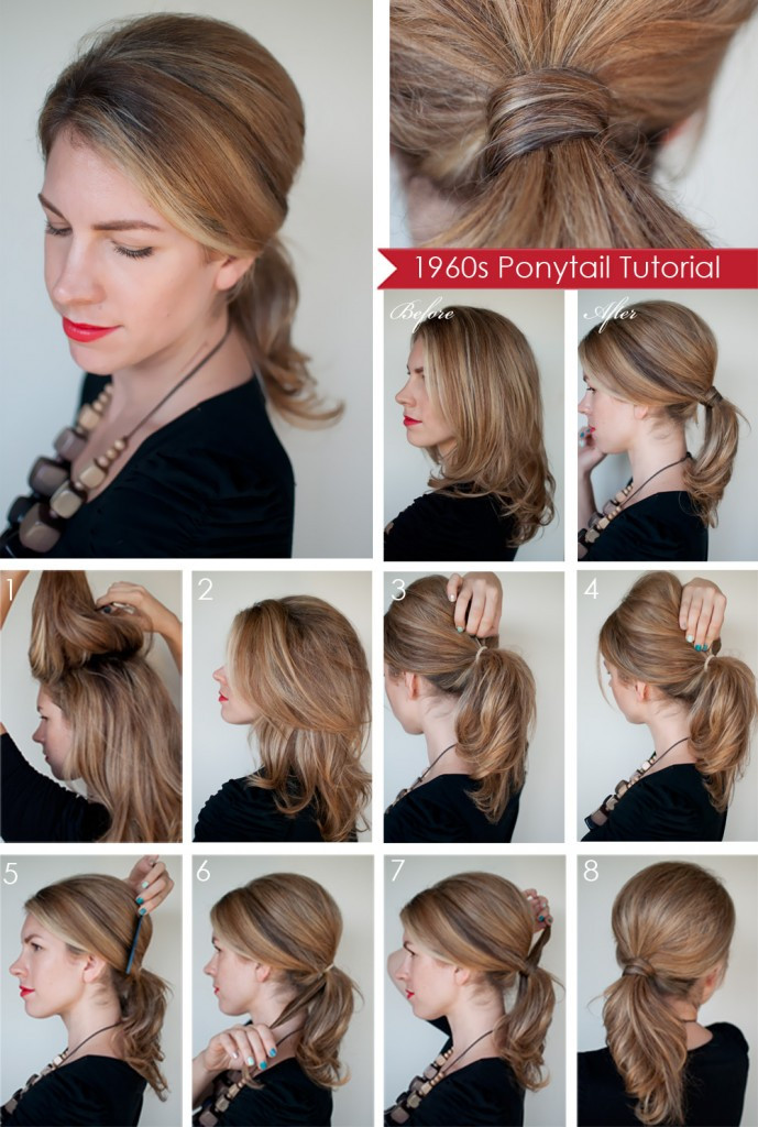 Easy Ponytail Hairstyle  15 Cute And Easy Ponytails