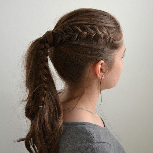 Easy Ponytails Hairstyles  59 Easy Ponytail Hairstyles for School Ideas