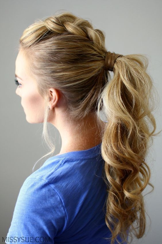 Easy Ponytails Hairstyles  10 Easy Ponytail Hairstyles 2019