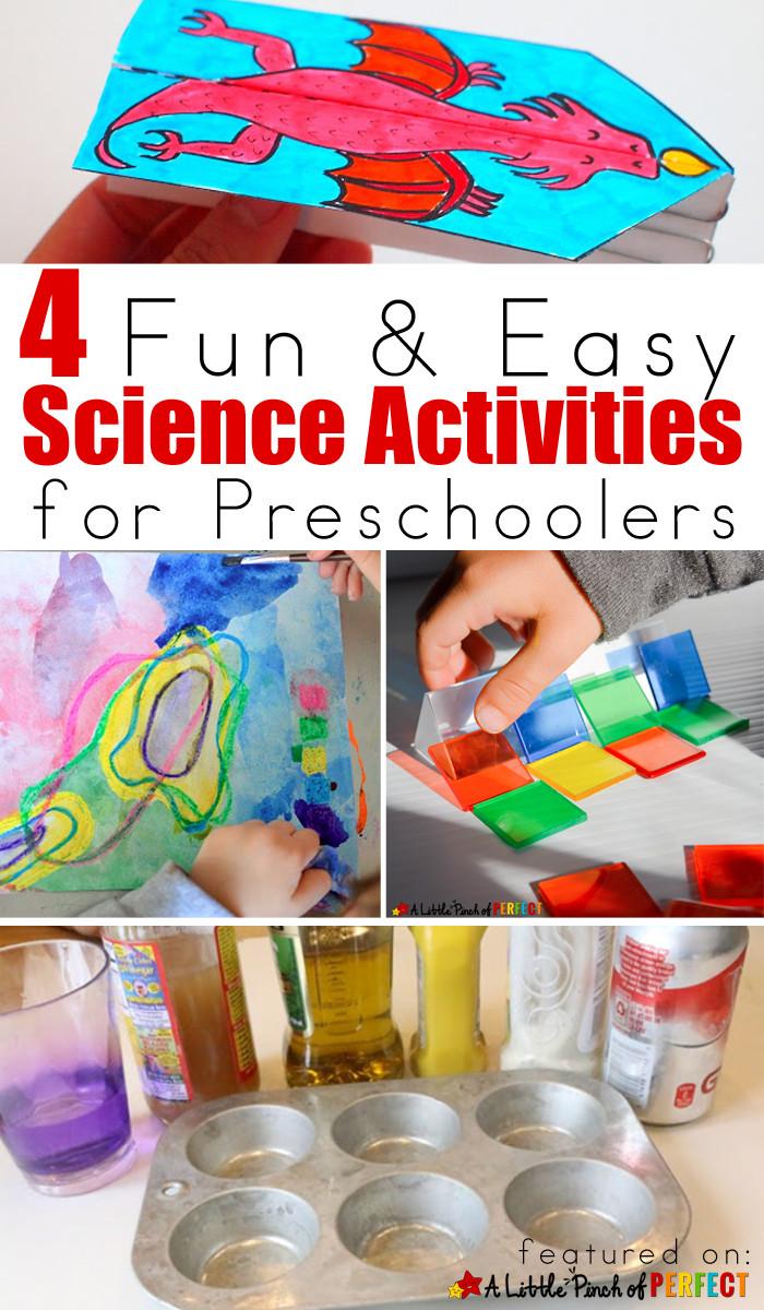 Easy Projects For Preschoolers  4 Fun & Easy Science Activities for Preschoolers
