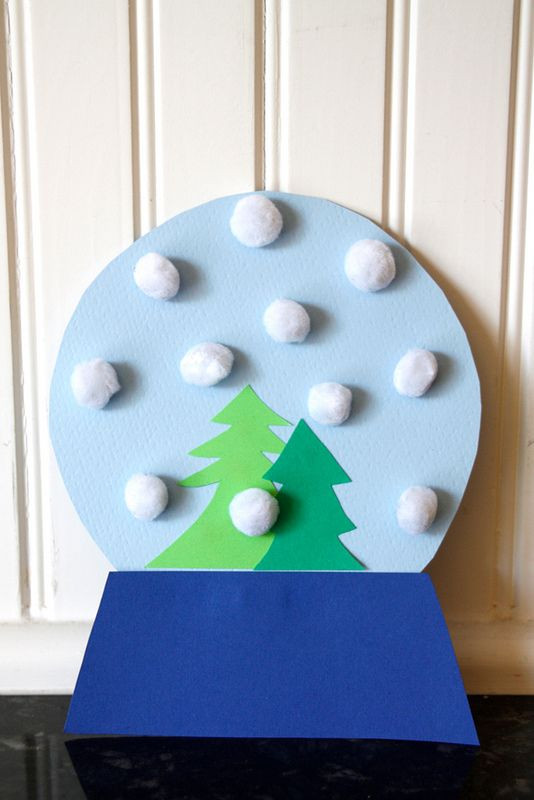 Easy Winter Crafts For Preschoolers  Christmas Crafts for Kids
