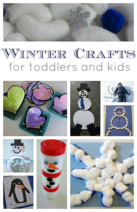 Easy Winter Crafts For Preschoolers  Easy Winter Crafts and Activities